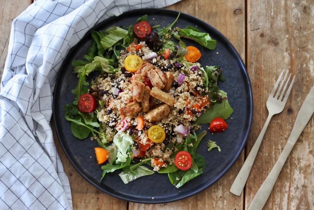 Quinoa salade met vega kip