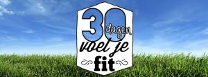 Start #30voeljefit challenge