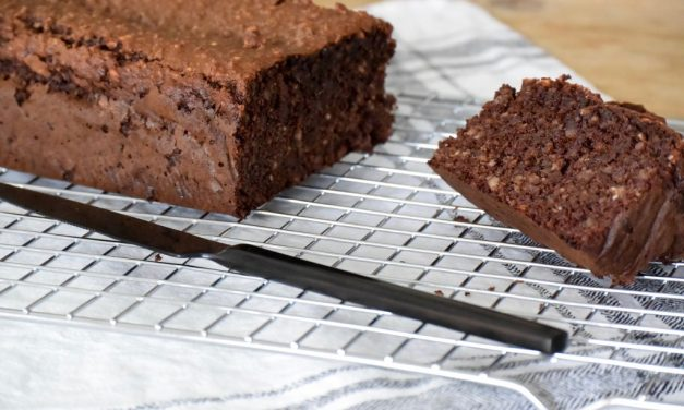Chocolade dadelcake