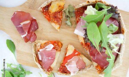 Spelt Havermout pizza
