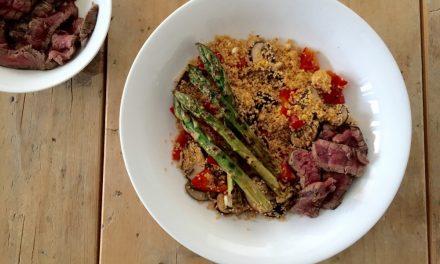 Couscous met biefstuk