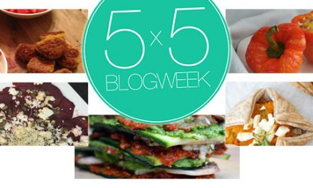 5×5 blog: Meatless Monday