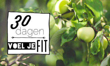 Aankondiging nieuwe #30voeljefit challenge