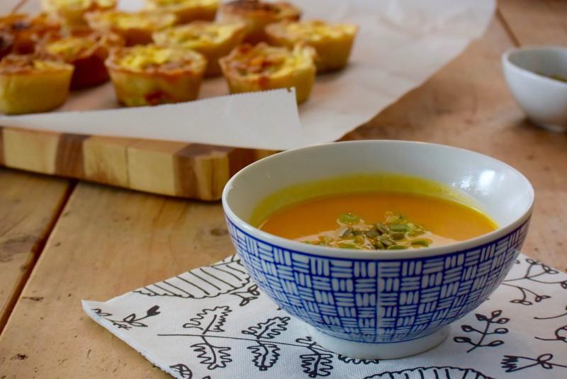 5 x vegetarische soep