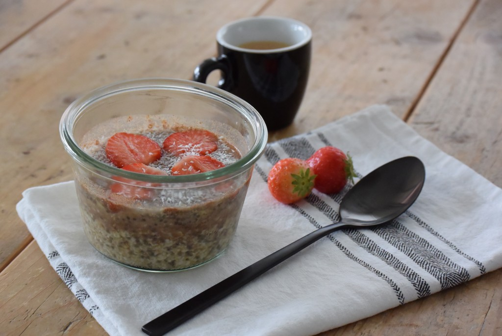 Overnight oats - www.puursuzanne.nl