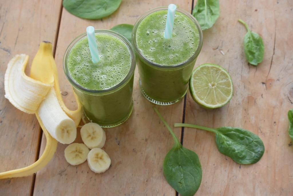 groene smoothie - www.puursuzanne.nl