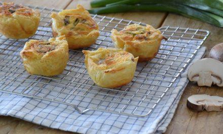 Vegetarische mini quiche