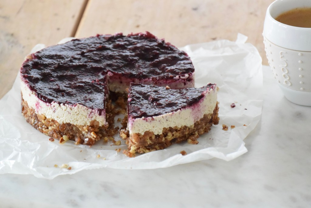 Raw cheesecake - www.puursuzanne.nl