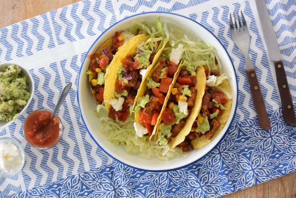 vegetarische taco's - www.puursuzanne.nl