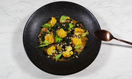 Bloemkool curry met cavelo nero