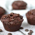 Vegan chocolade muffins