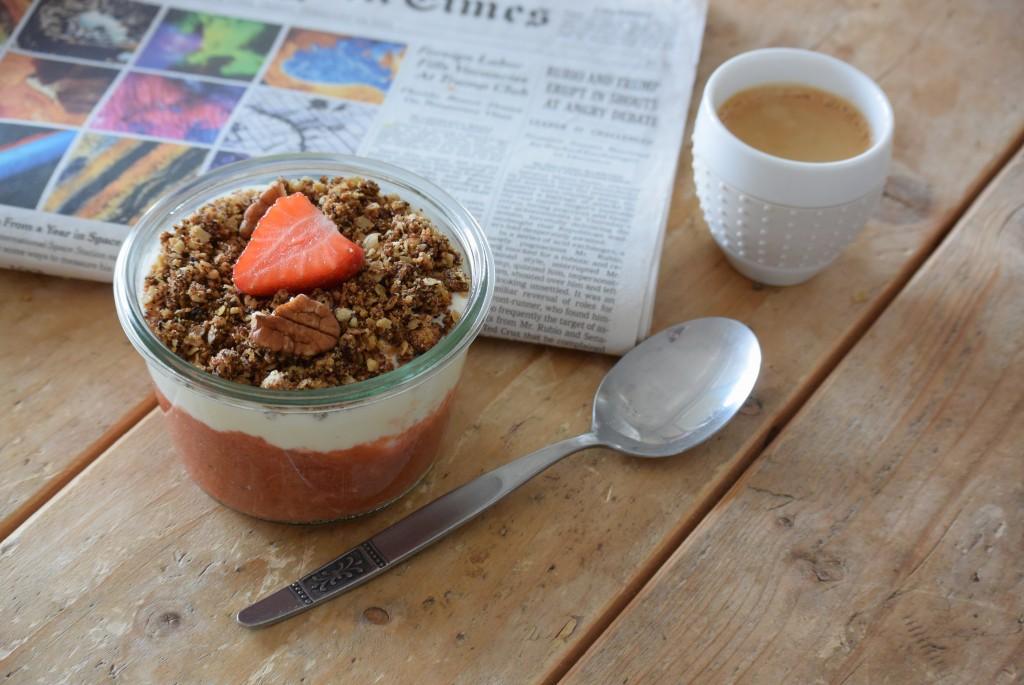 Rabarber ontbijt