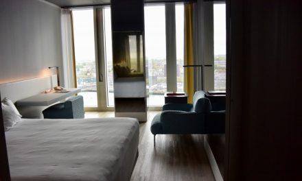 Een nachtje slapen in Rotterdam
