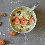 Smoothie bowl met avocado