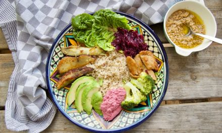 Zomerse vegan bowl