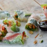 Vegetarische summerrolls