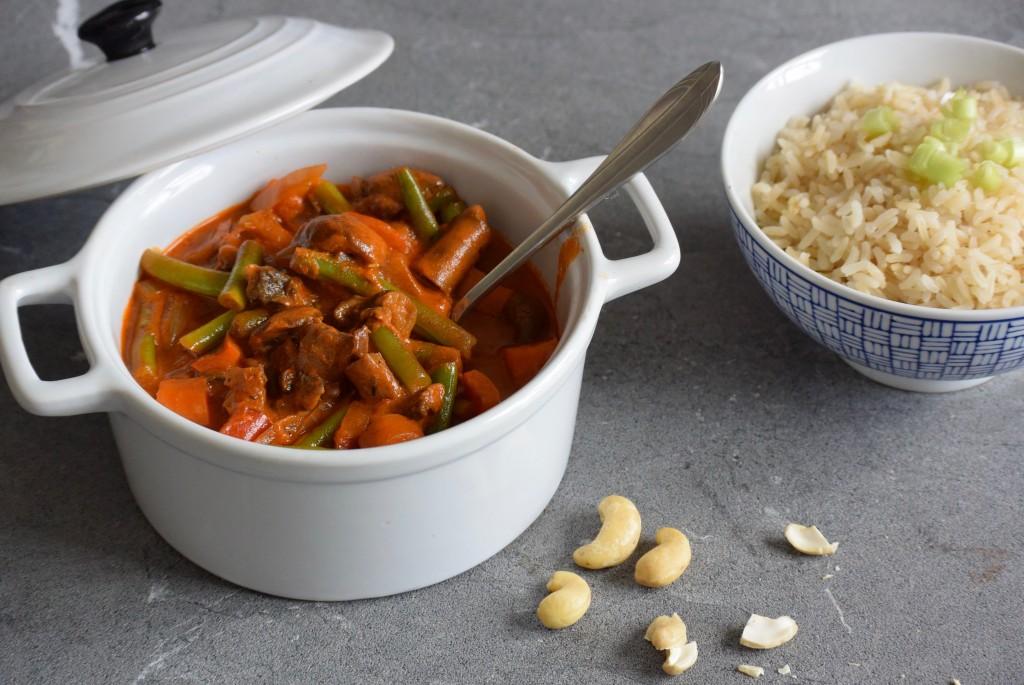 vega curry | vegan curry | makkelijk recept | avond eten | Puur Suzanne