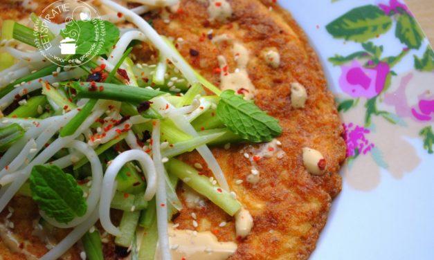 Omelet met tofu