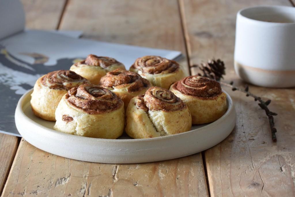 Vegan kaneelbroodjes - www.puursuzanne.nl