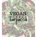 Rode bieten carpaccio