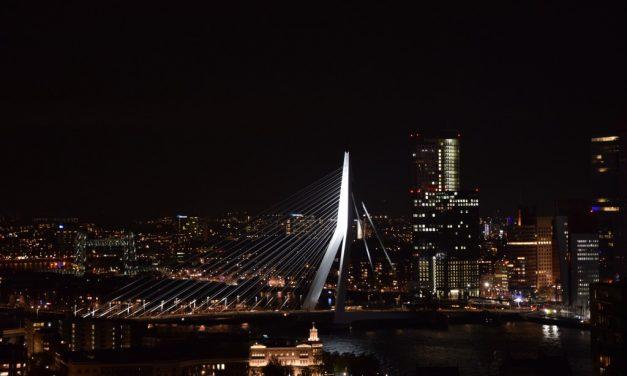 Dineren op 100 meter hoogte in Rotterdam