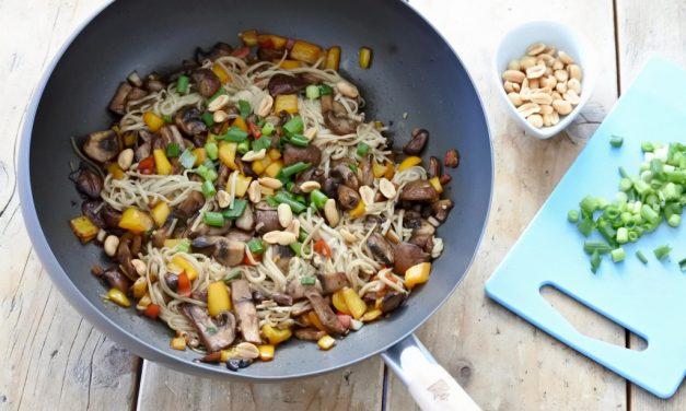 Noodles met champignons + winactie