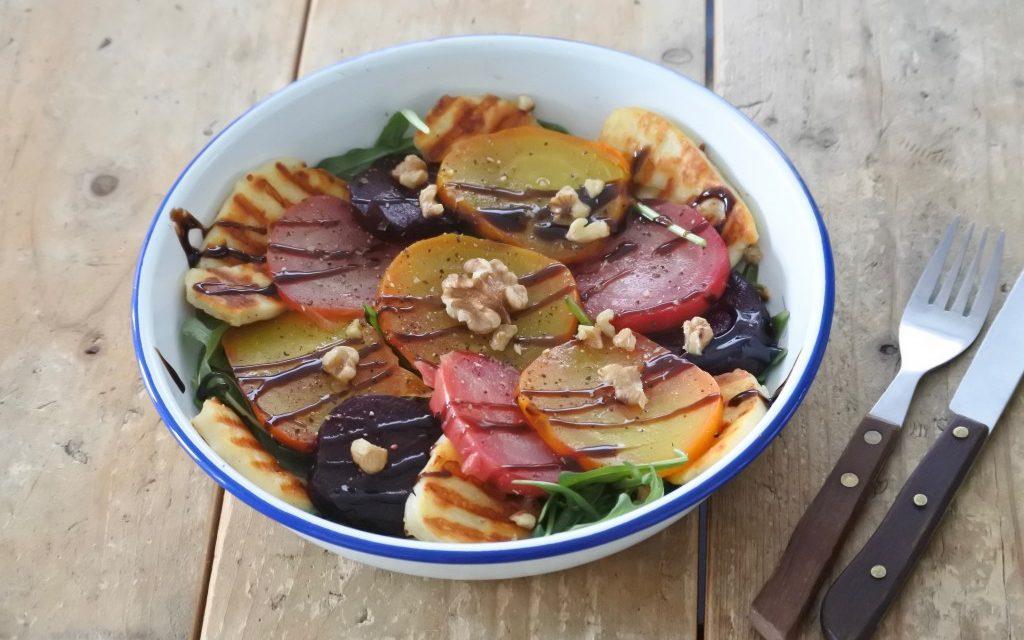 Salade met bietjes uit de oven