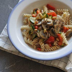 vegan pasta   pasta met champginons   puur suzanne
