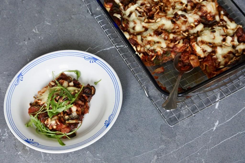 Vegetarische lasagne - www.puursuzanne.nl