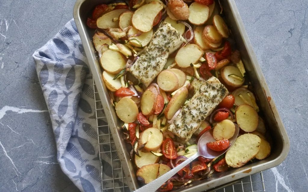 Vis Vrijdag: Ovenschotel met vis