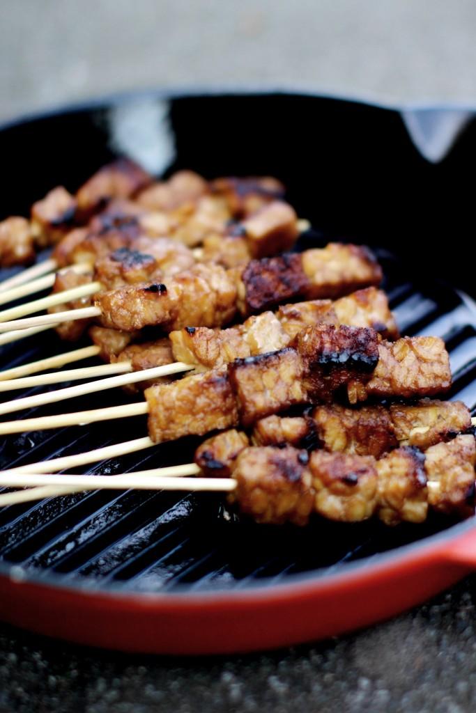 vega sate - vegan sate - BBQ recept - puur suzanne