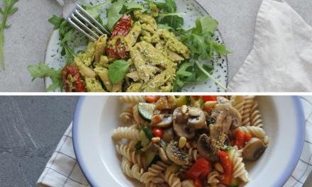 5x vegan pasta recepten