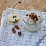 Overnight oats met appel en kwark