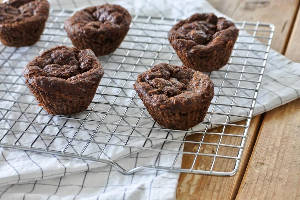 Chocolade bananen muffins - www.puursuzanne.nl