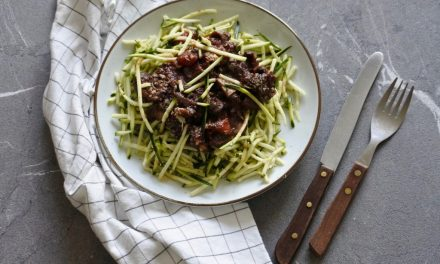 Vegan courgetti