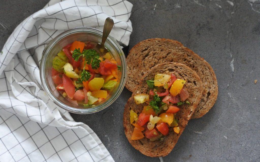 Makkelijke tomatensalsa