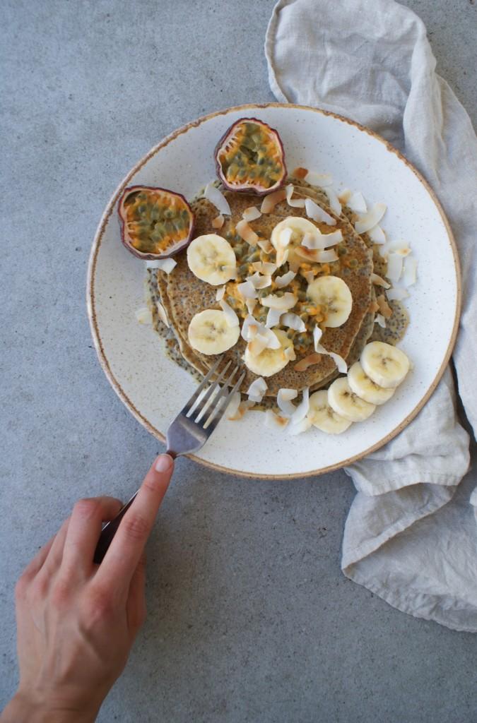 Vegan pannenkoeken - www.puursuzanne.nl