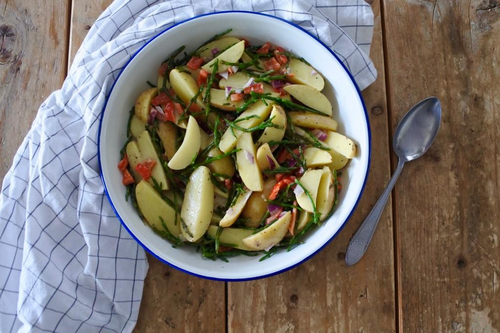aardappel salade - bijgerecht BBQ - puur suzanne