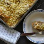 Witlofgratin met rösti en kaas
