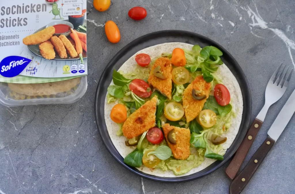 Vegan kip wraps - www.puursuzanne.nl