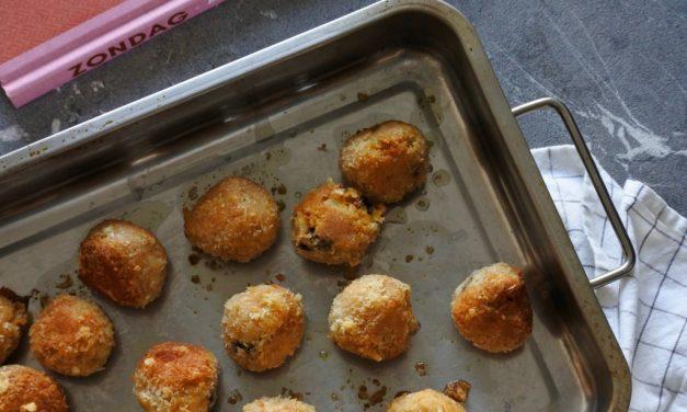 Krokante kikkererwtenballetjes uit het kookboek Zondag