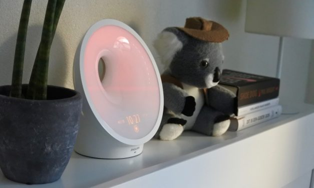 Energieker wakker worden met de Somneo wake- up light