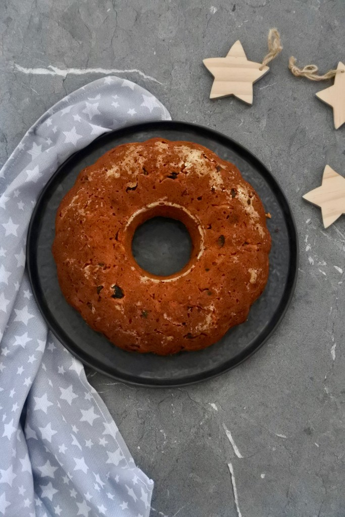 glutenvrije tulband | kerst recept | puur suzanne | andere koek | vegan tulband