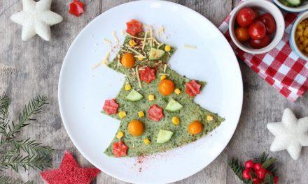 DIY kerst-groentepannenkoek voor kinderen!