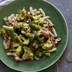 Pasta met broccoli - www.puursuzanne.nl