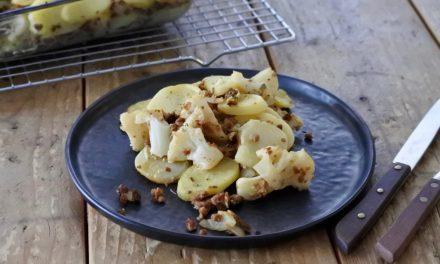 Vegetarische ovenschotel met bloemkool