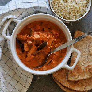 kikkererwten curry | vegan curry | Puur Suzanne