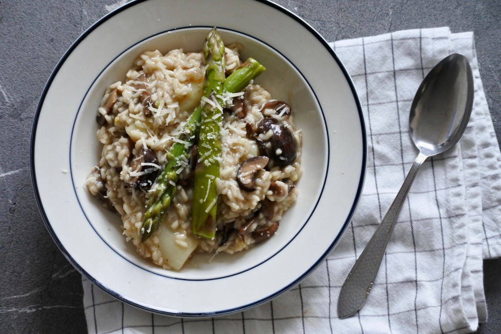 Risotto met asperges - www.puursuzanne.nl