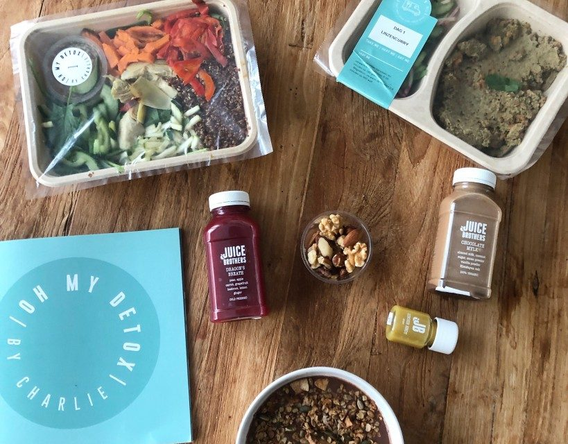 Review: Oh my Detox box