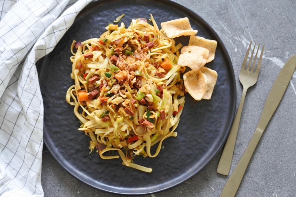 Snelle bami | vegan bami | makkelijke maaltijd | gezond eten | Puur Suzanne